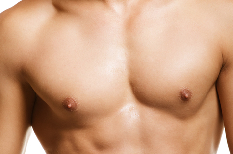 man chest breast reduction