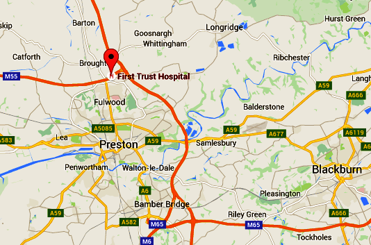 First Trust Hospital Map